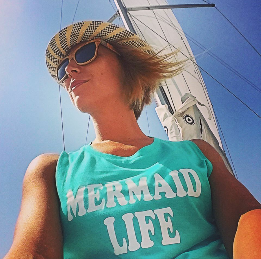 Image of MERMAID LIFE Muscle tee