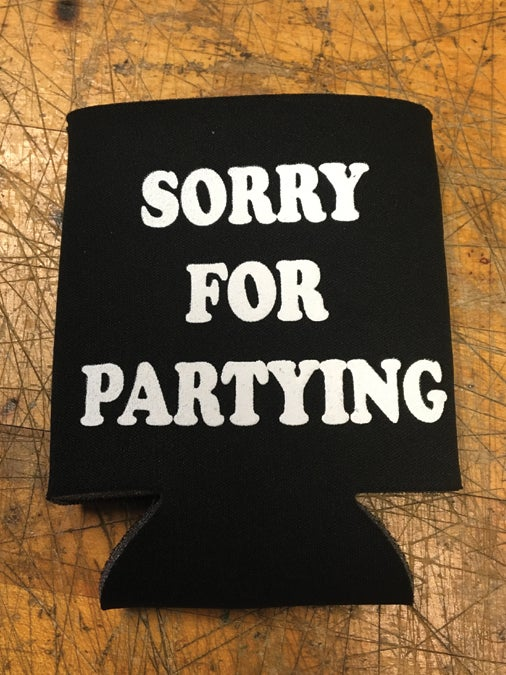 Image of Sorry For Partying