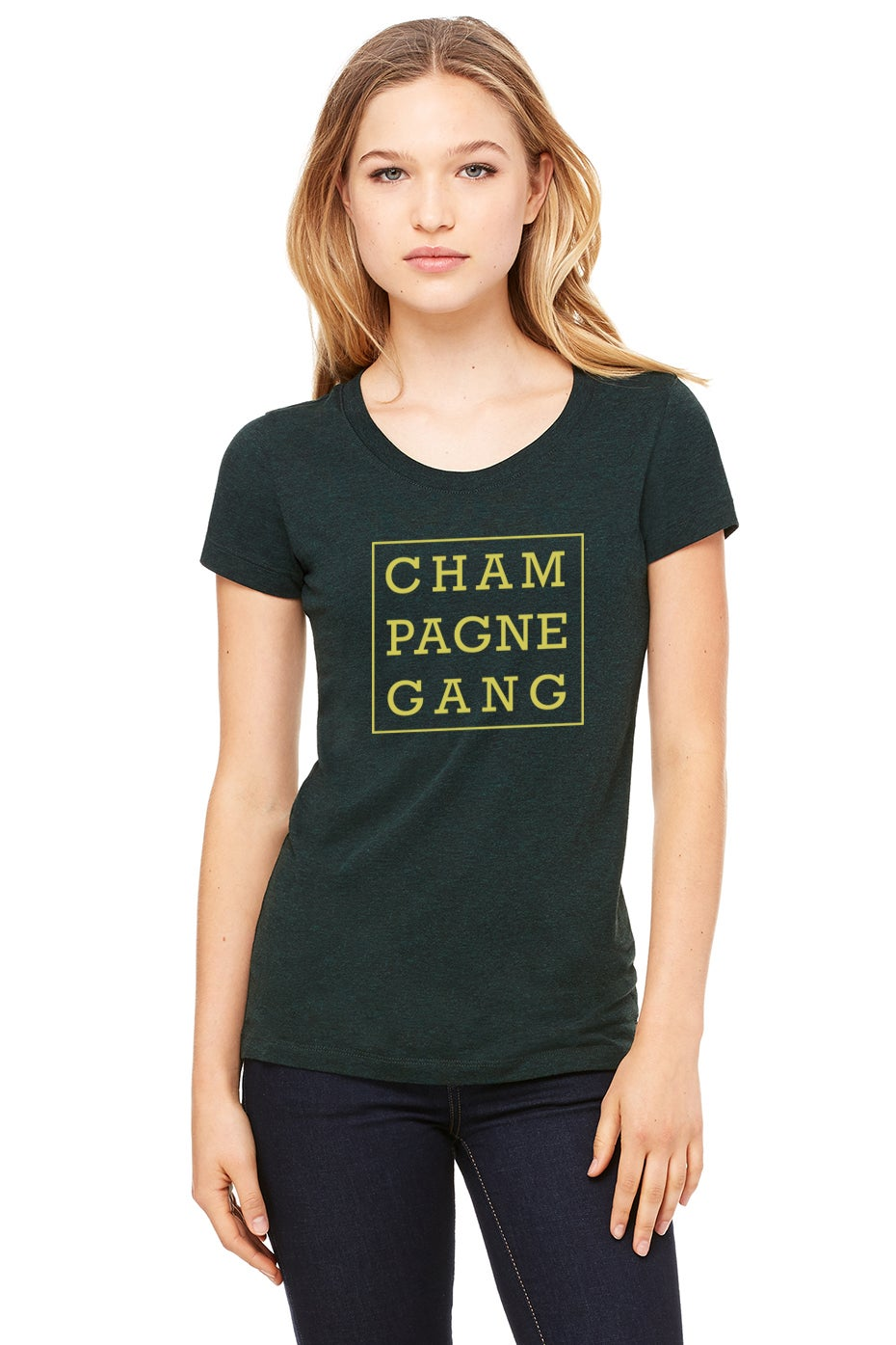 Image of Champagne Gang Triblend Tee