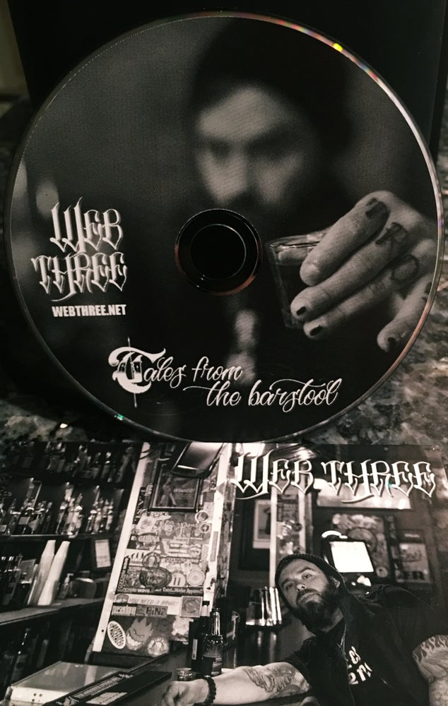 Image of Web Three - Tales from the Barstool CD