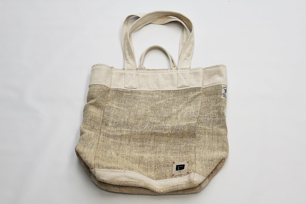 Image of HEMP TOTE MARKET BAG