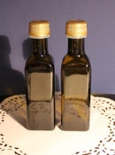 Image of Bonbonnieres - Bombonieres - Weddings Favours - 100 ml bottles - Olive Oil without labels.