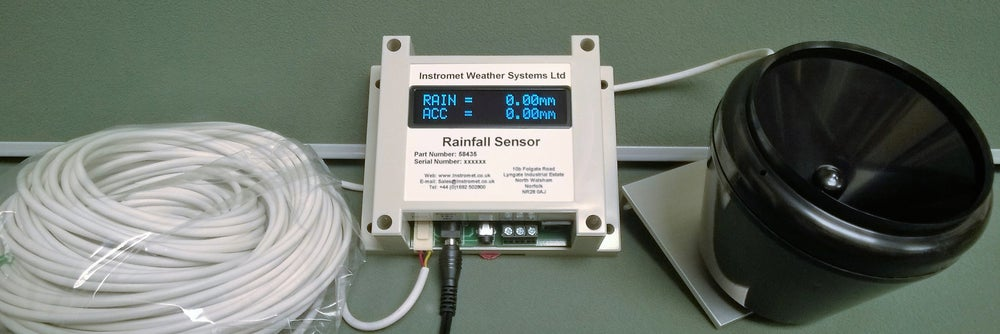 Image of Stand Alone rainfall sensor