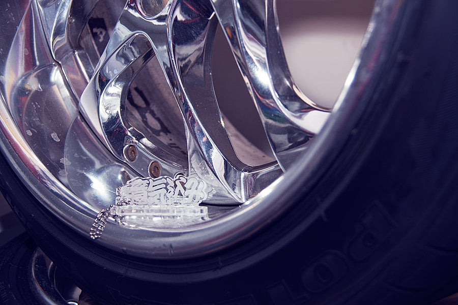 Image of Slide Passion Key Ring
