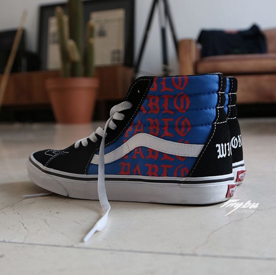 "Image of Vans Sk8 Hi ""I Feel Like Pablo"""