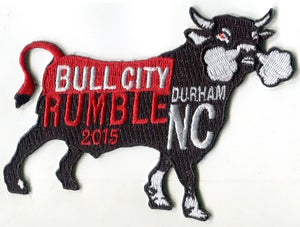 Image of 2015 Bull City Rumble Rally Patch (FREE shipping in USA)