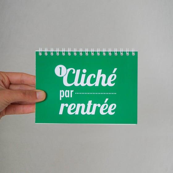 Image of 1 cliché par rentrée