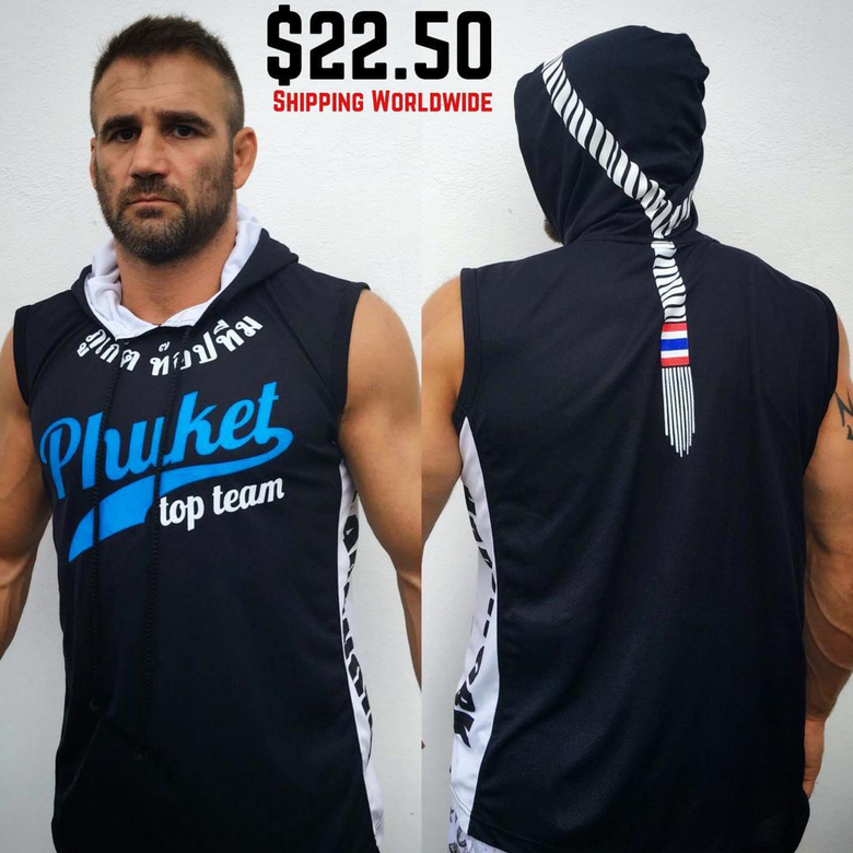 Image of Phuket Top Team Sleeveless Hoodie (Mongon Design)