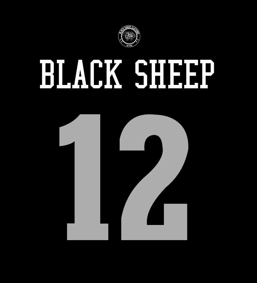 Image of BASKETBALL JERSEY (BLACK)