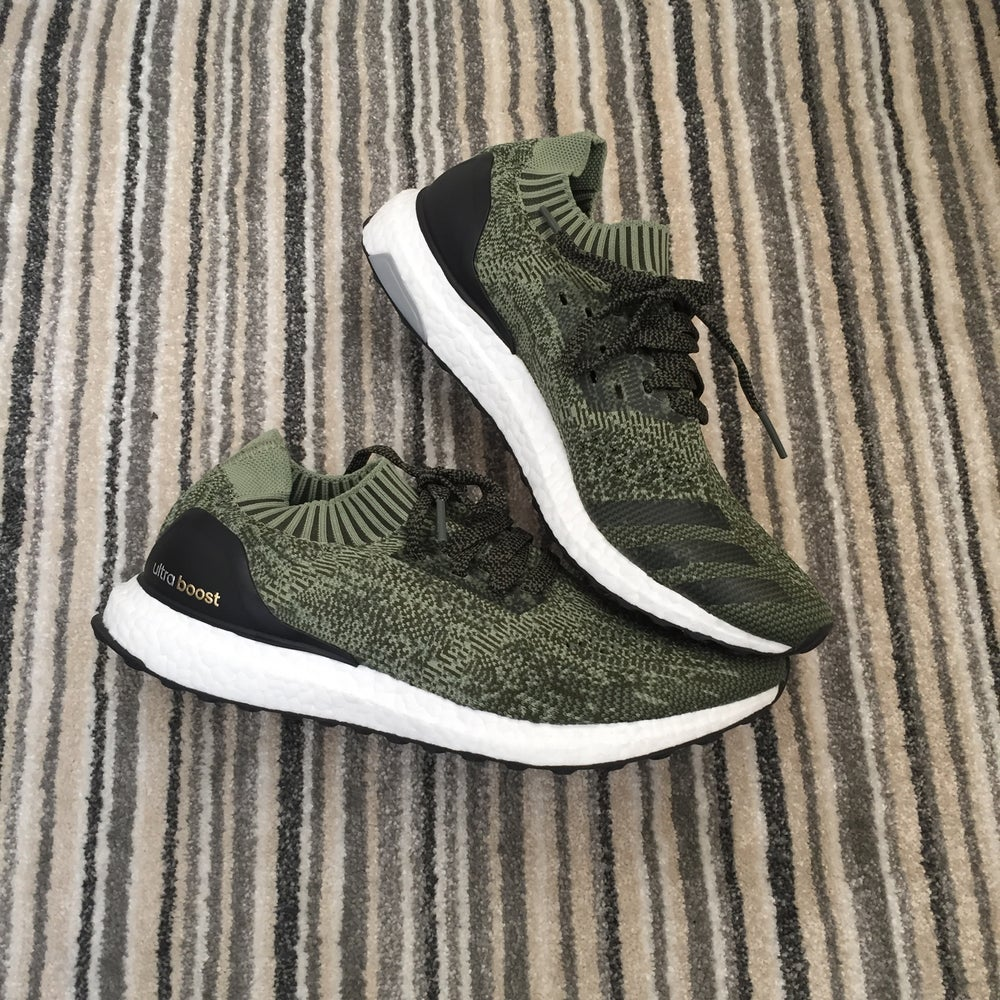 brand new 32f96 6e61d Adidas Ultra boost uncaged green