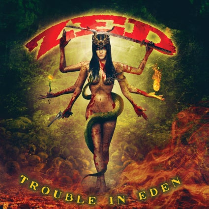Image of ZED - Trouble in Eden CD