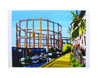Image of Bethnal Green gas holders / TOMARTACUS
