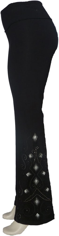 Image of Flair Leather Black ballerina FW3488