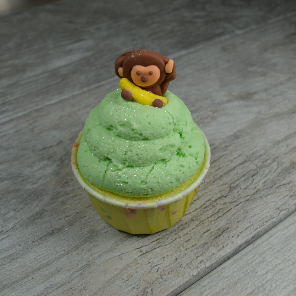 Image of Monkey Farts Bath Bomb Cupcake
