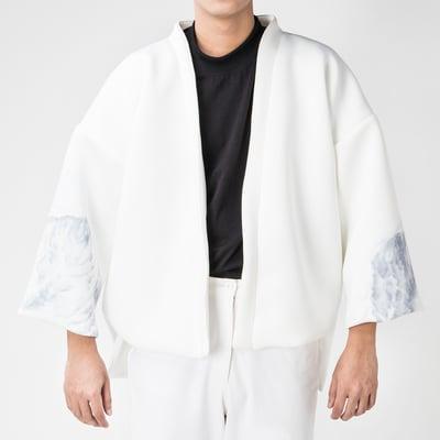 Image of Breather Basic Kimono (Illustration on Sleeves)