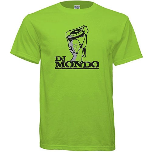Image of DJ Mondo Logo T-Shirt (Green)