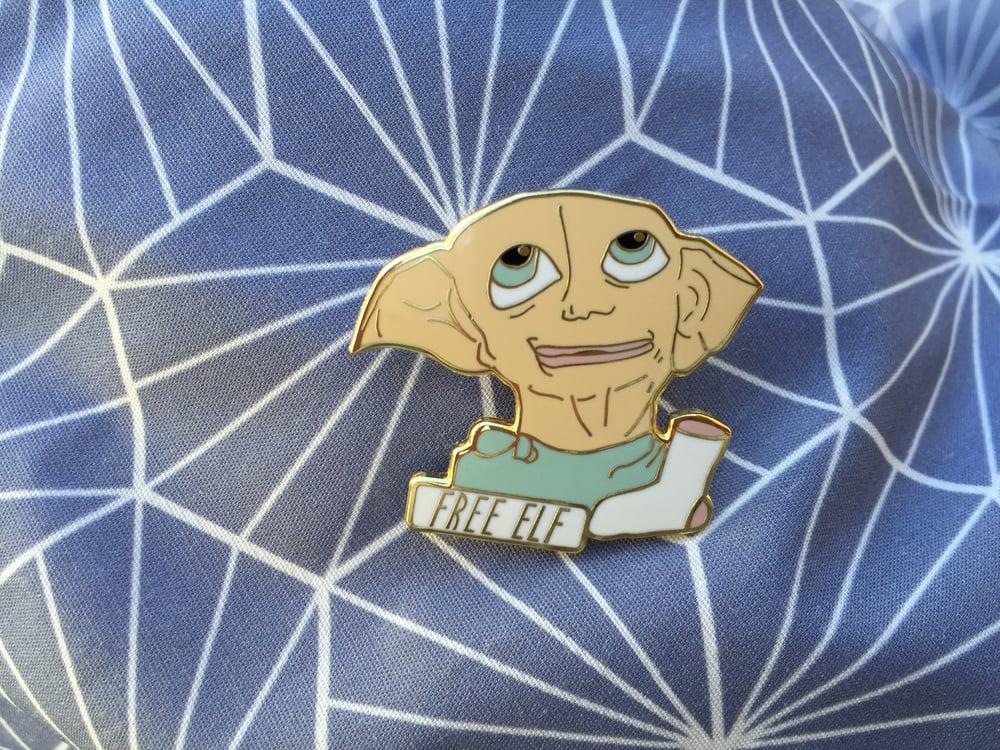 Image of Dobby Enamel Pin