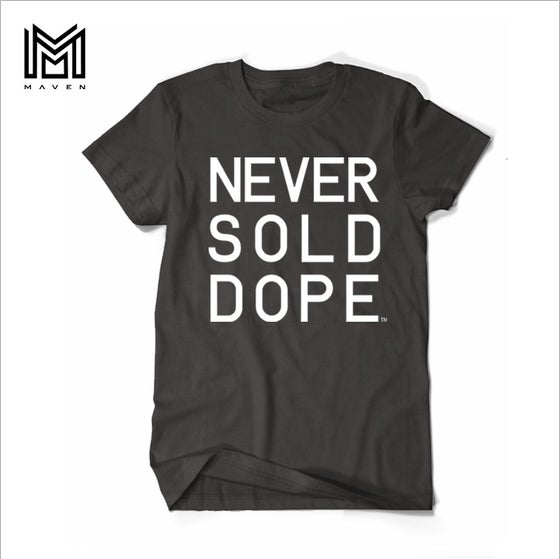 "Image of Maven Brand ""NSD DAY.1 BLACK"" Mens TShirt"