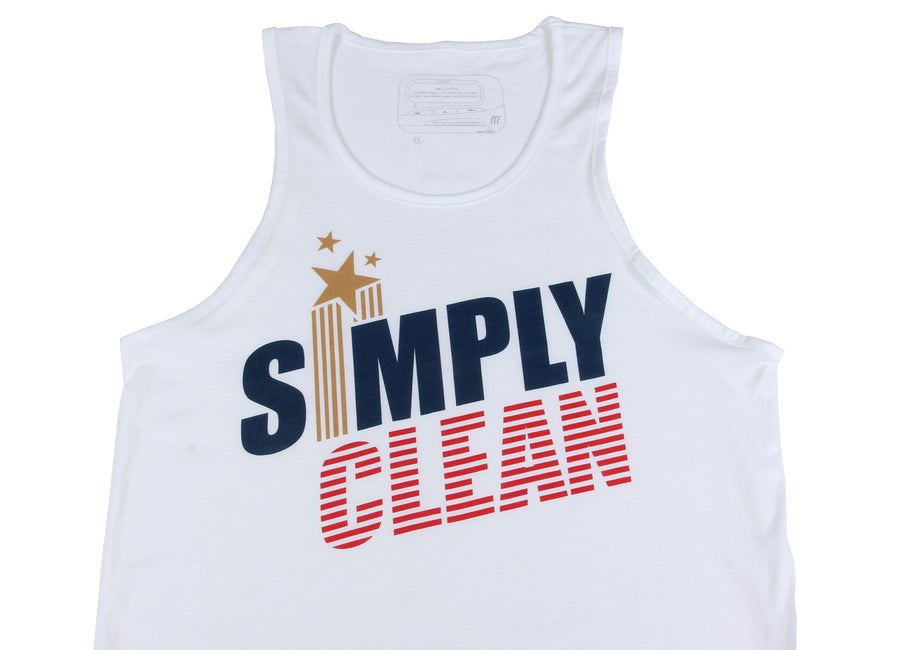 "Image of Unisex ""Champion"" Tank... White"