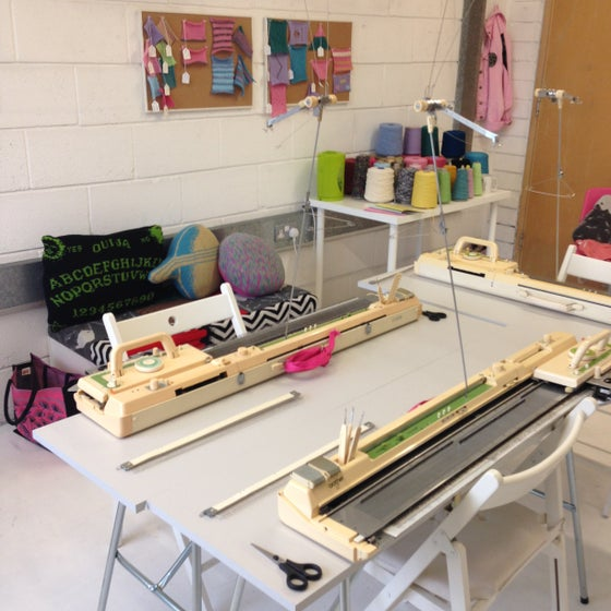 Image of Machine knitting 1 day workshop!