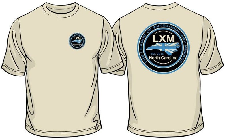 Image of LXM NC ADULT CUT TEE SHIRT