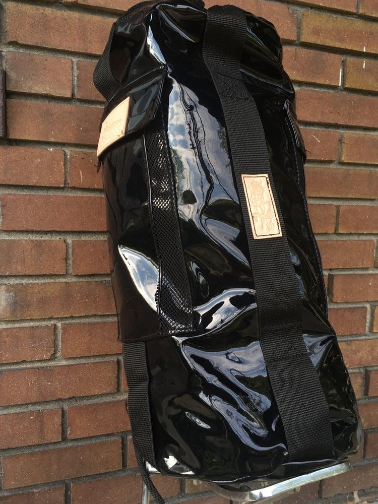 Image of SweatShop Industries x MoldieGoldies sissy bar bag