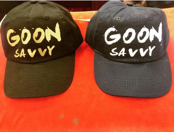 Image of G.O.O.N Savvy custom Dad Hats