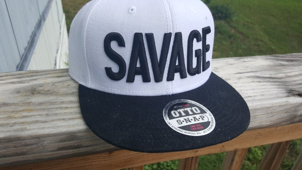 Image of Savage Flat-bill Hat!