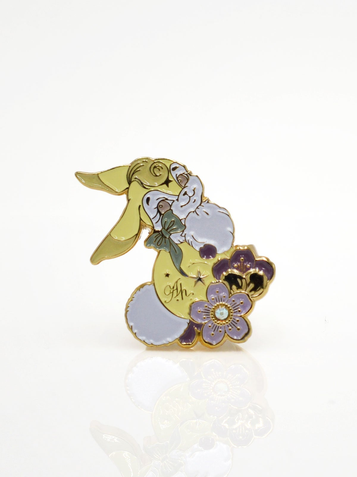 Image of Bunny Ring · Yellow