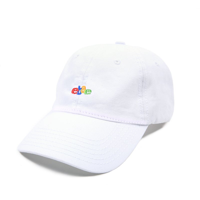 Image of  Ebae Low Profile Sports Cap - White