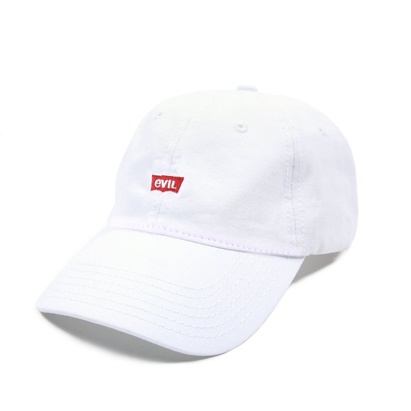Image of  Evil Low Profile Sports Cap - White