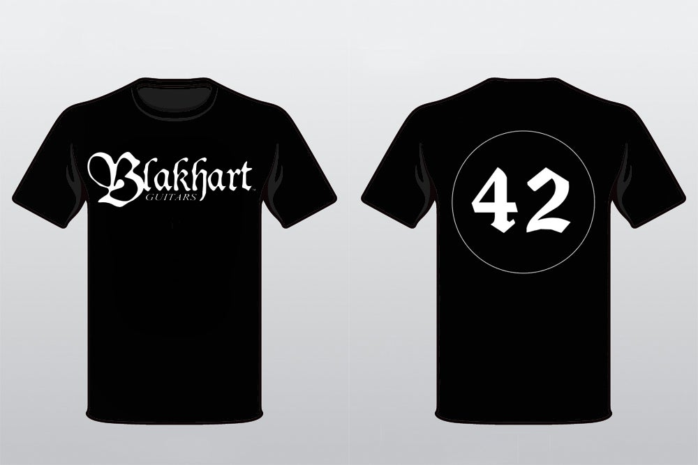 Image of BLAKHART 42 EDITION T-SHIRTS AND SNAPBACK COMBO
