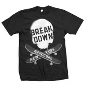 "Image of BREAKDOWN ""Skull Skate"" T-Shirt"