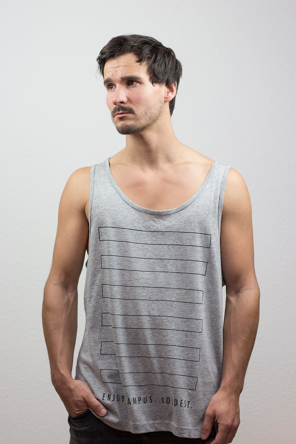 Image of CAMPUS Mens Wide Muscle Shirt