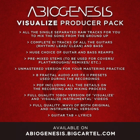 Image of VISUALIZE PRODUCER PACK