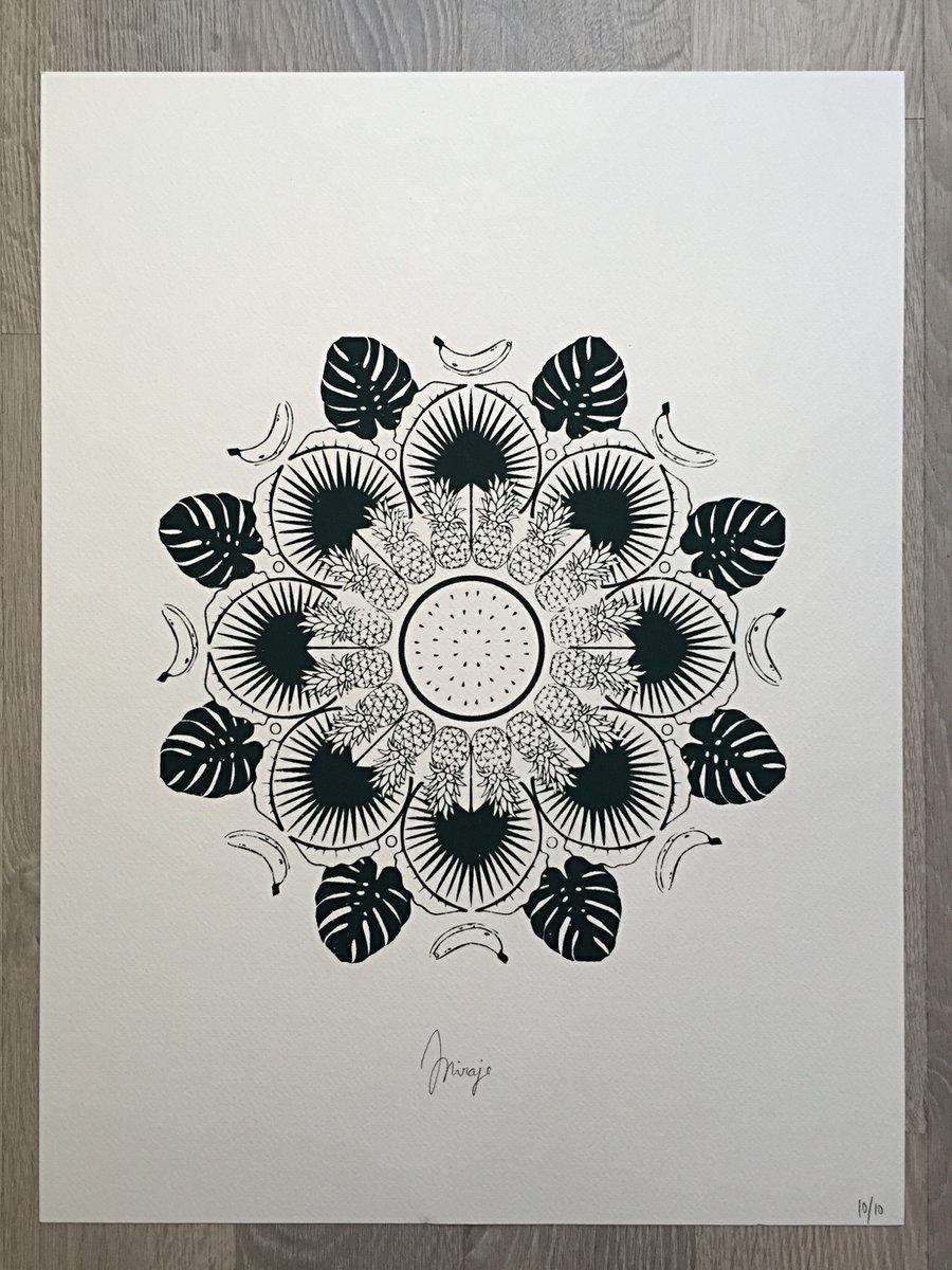 Image of Mandala tropical