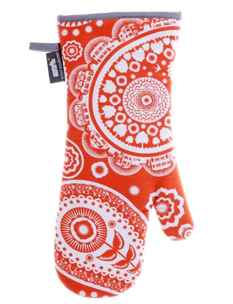 Image of Paisley Crescent Single Oven Glove