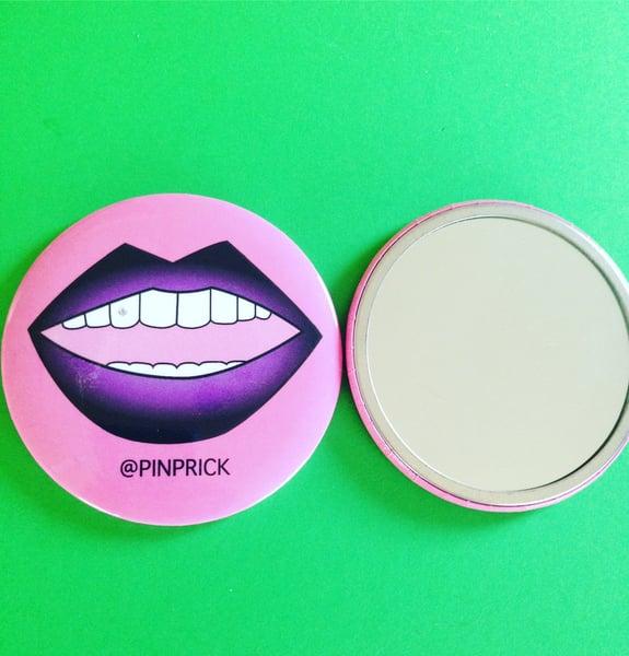 Image of Gradient Lip Mirror - Purple