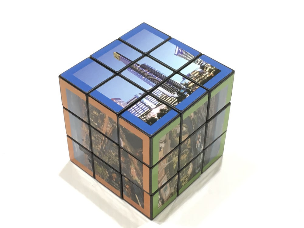 Image of Eureka Skydeck Photo Rubix Cube inc. postage*