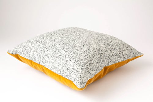 Image of Galaxy Velvet Gold Cushion Cover - Square