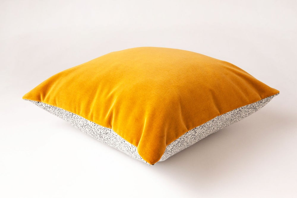Image of Galaxy Velvet Gold Cushion Cover - Square (LAST ONE SAMPLE)