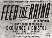 Image of Feed the Rhino SUPPORT Tickets - Exchange, Bristol (20/09/16)