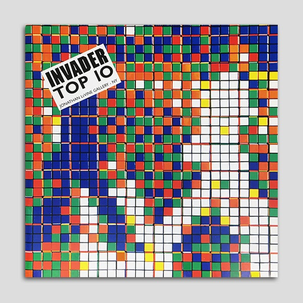 Image of Invader - Top 10 (2009)