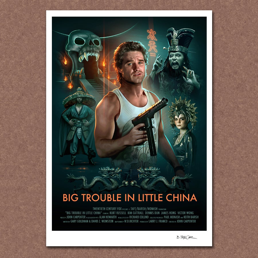 Image of Big Trouble in Little China Poster
