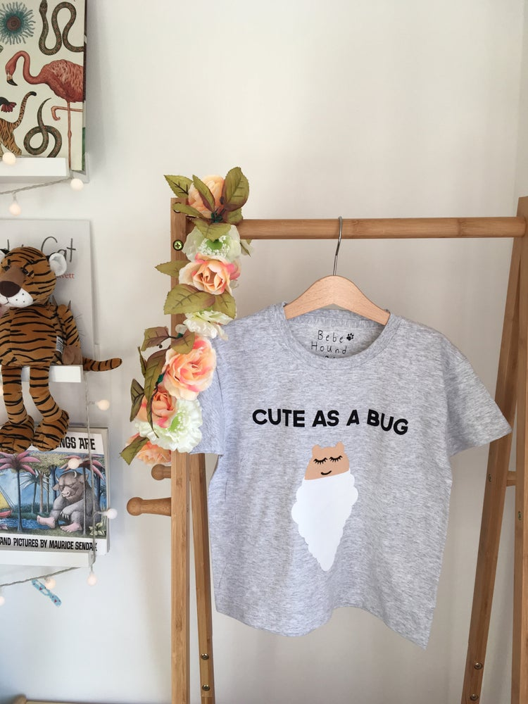 Image of cute bug tee