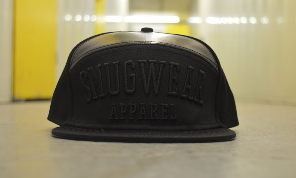 Image of Smugwear Apparel Snapback (Black)