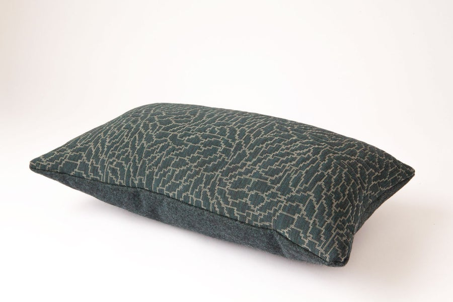 Image of Green Forest Cushion Cover - Lumbar