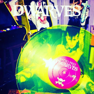 Image of Dwarves - Radio Free Dwarves Vinyl (Banned Neon Yellow EU Version)