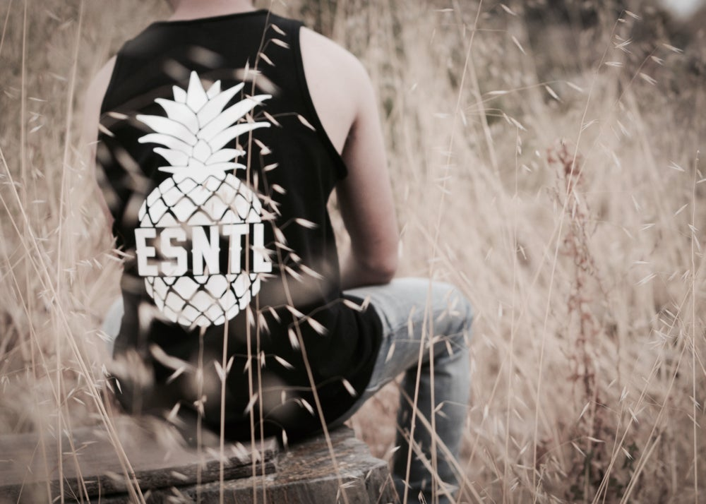 "Image of ESNTL ""Sugar Loaf"" tank top."