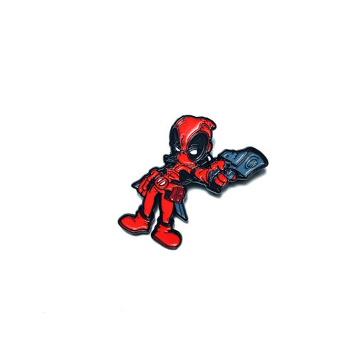 Image of Baby Deadpool Pin